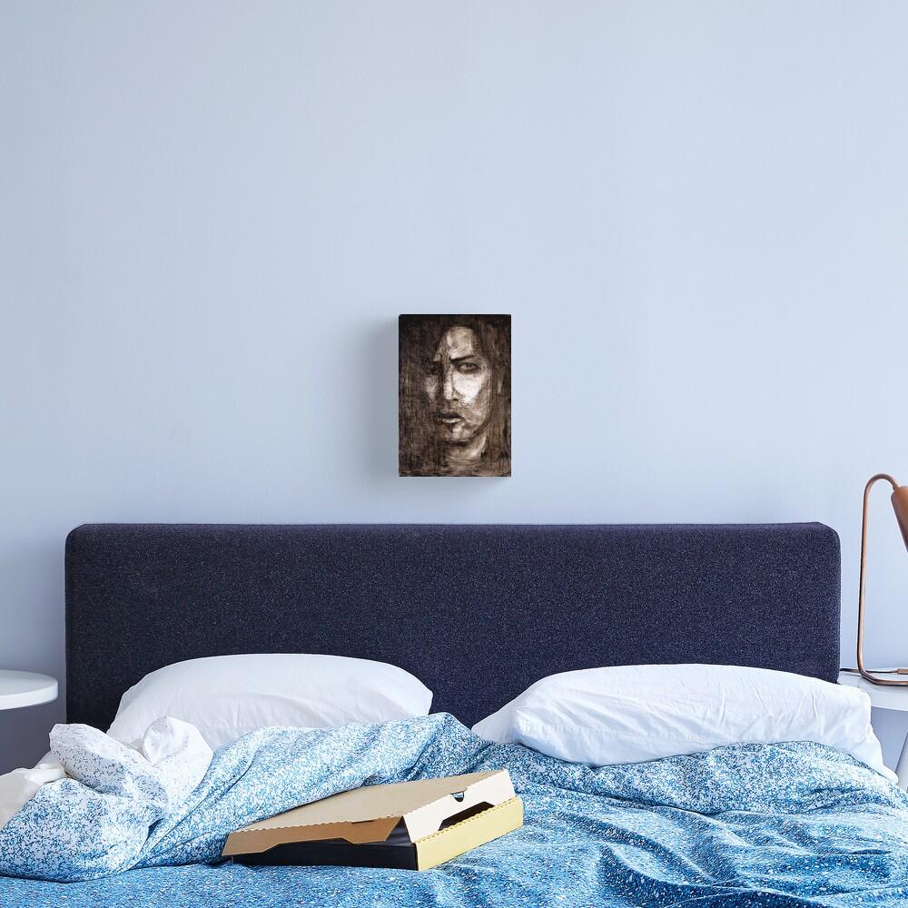 portrait of skepticism Canvas Print