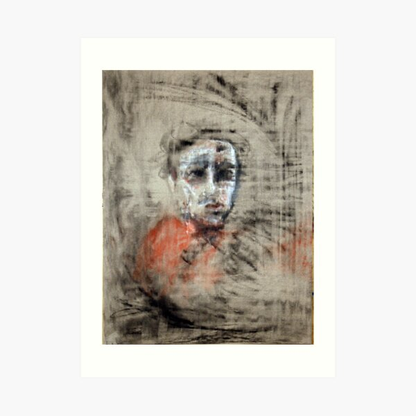 portrait of obscurity Art Print