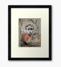 portrait of obscurity Framed Print