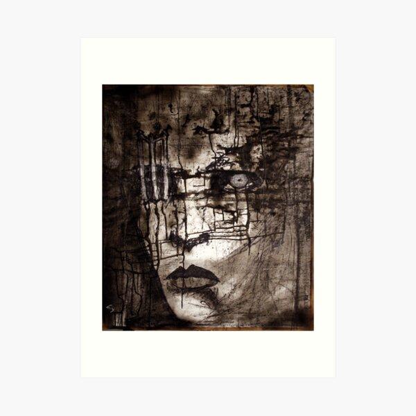 portrait of M Art Print
