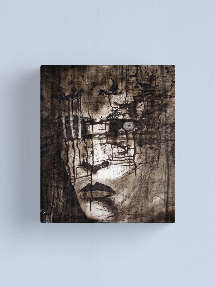 Alternate view of portrait of M Canvas Print