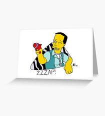 ZZZap! Greeting Card