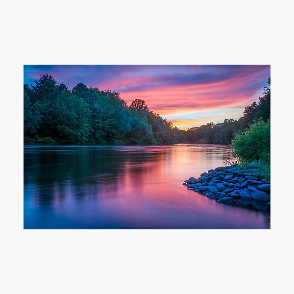 Colors on Lehigh Photographic Print