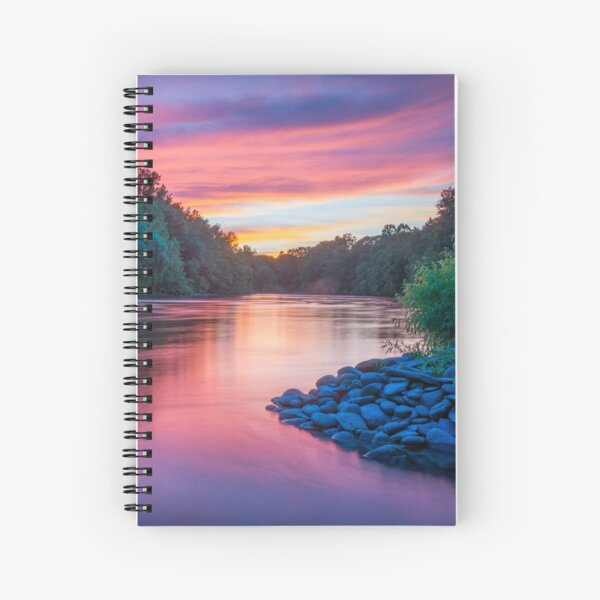 Colors on Lehigh Spiral Notebook
