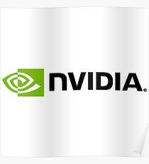 Nvidia Logo Poster