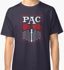 PAC Logo - Red and White Classic T-Shirt