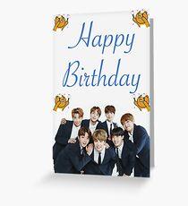 BTS-Geburtstags-Karte Grußkarte