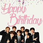 BTS-Geburtstags-Karte von baekgie29