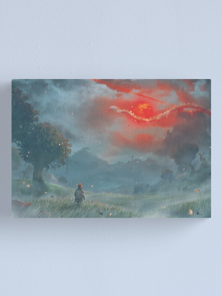 Alternate view of Blood Moon (Second Edition - 75 Only!!) Canvas Print