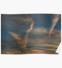 Cloud formations Poster