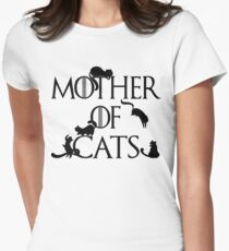Mother of Cats Daenerys Spoof Crazy Cat Lady GoT T-Shirt