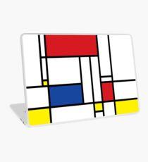 Mondrian Minimalist De Stijl Modern Art Laptop Skin