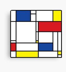 Mondrian Minimalist De Stijl Modern Art Canvas Print