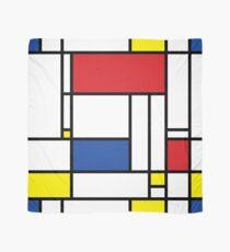 Mondrian Minimalist De Stijl Modern Art Scarf