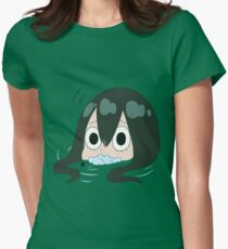 Froppy froge Women's Fitted T-Shirt