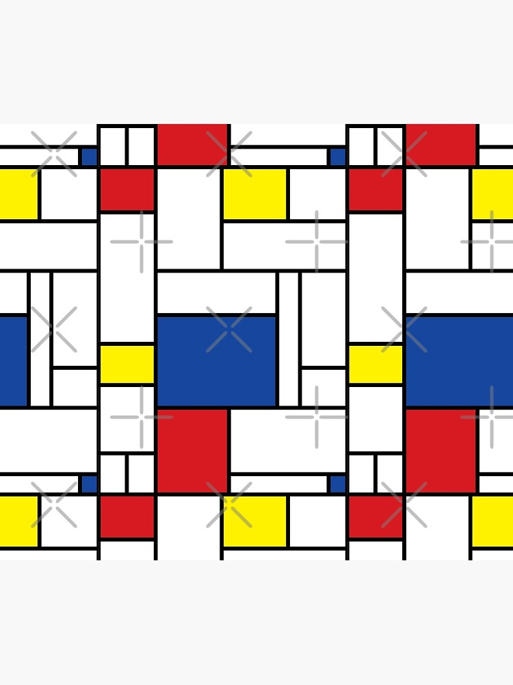 Mondrian Minimalist De Stijl Modern Art II © fatfatin by fatfatin