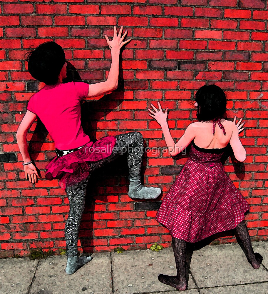 another brick in the wall by rosalie photography