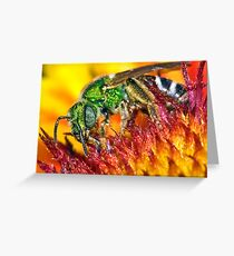 The Fire Walker ! Greeting Card