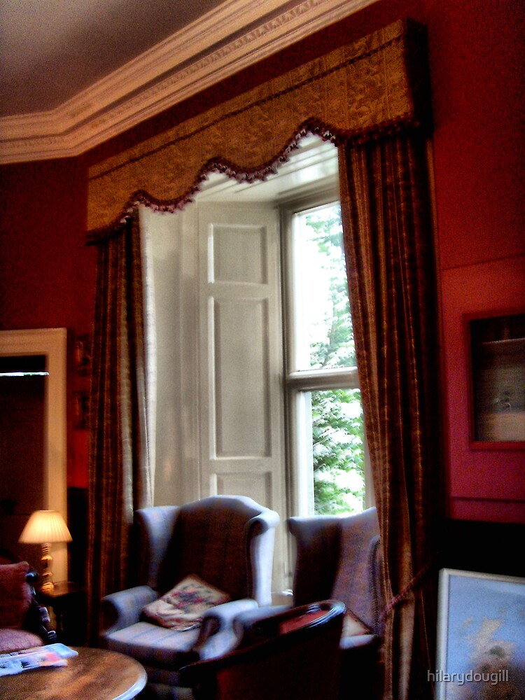 One of the sittingrooms at Walworth Castle by hilarydougill