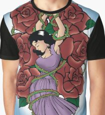 Connie in Roses Graphic T-Shirt