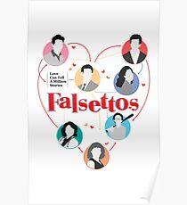 Broadway Falsettos Poster
