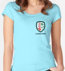 London Irish Rugby Women's Fitted Scoop T-Shirt