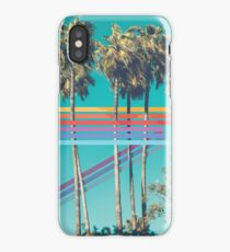 80's Palm Trees iPhone Case/Skin