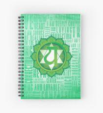 Heart Chakra - Awareness Spiral Notebook