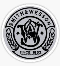 Smith & Wesson Gray Emblem Sticker