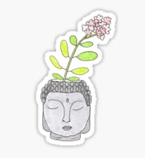 Buddha Plant  Sticker
