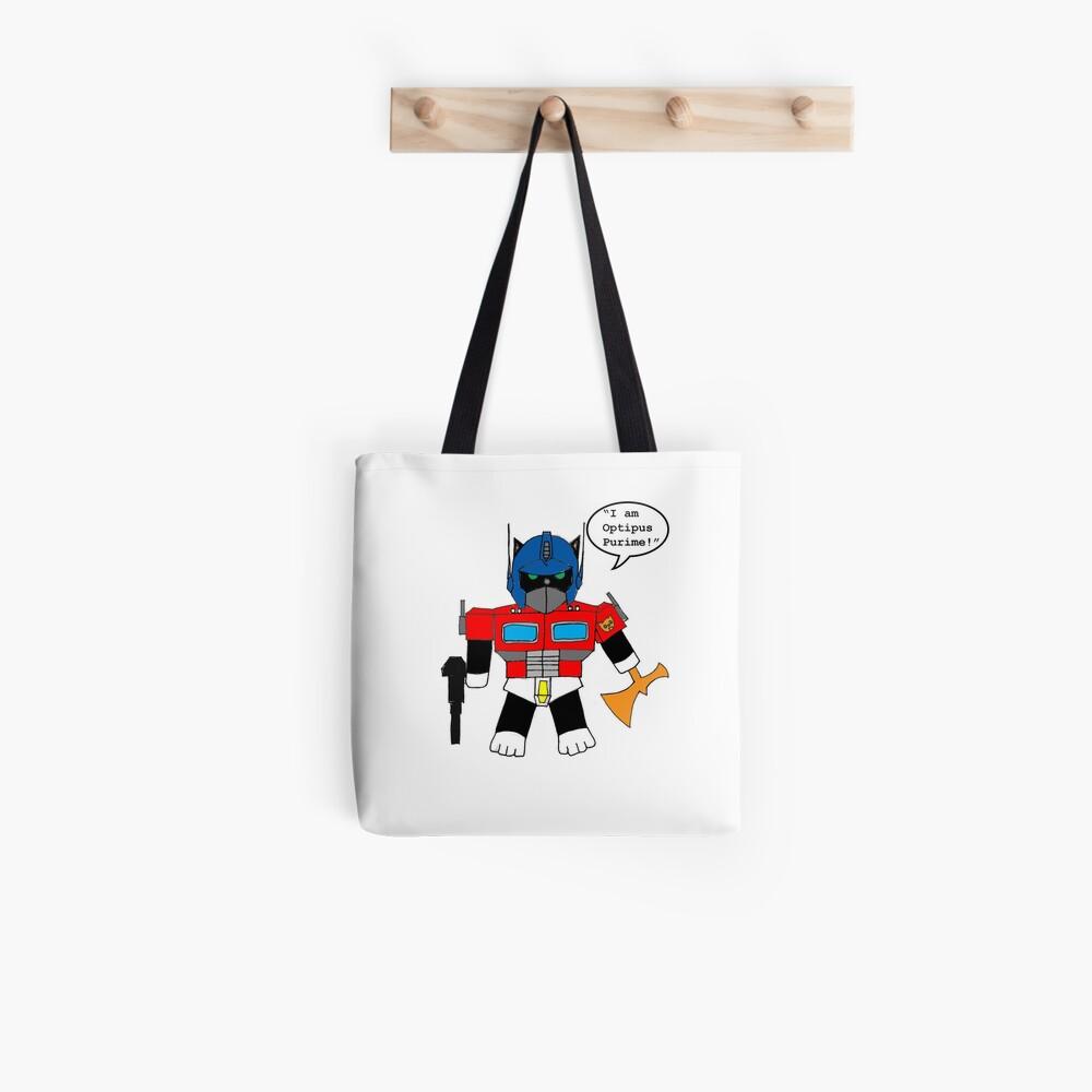 Transformers - I Am Optipus Purime Tote Bag