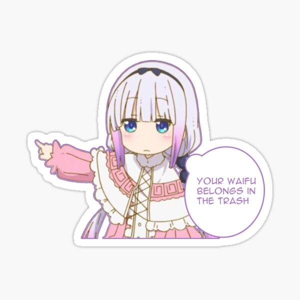 Trash Waifu Sticker