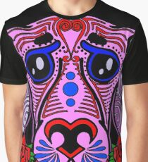 Sugar skull puppy Graphic T-Shirt