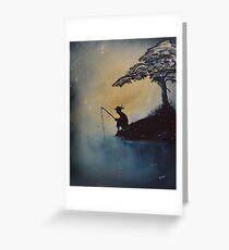 The Adventures of Huckleberry Finn by Mark Twain Greeting Card