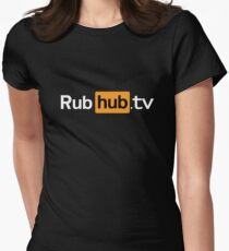 RubHub.TV - Rick and Morty Season 3 Women's Fitted T-Shirt