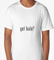 got kale? (black font) Long T-Shirt