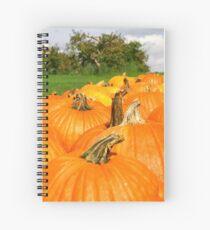 Memories of Fall Spiral Notebook