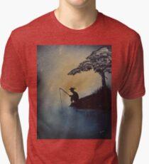 The Adventures of Huckleberry Finn by Mark Twain Tri-blend T-Shirt
