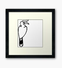 Ask me about: Zoology Framed Print