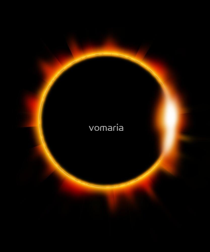Totale Sonnenfinsternis 21. August 2017 von vomaria