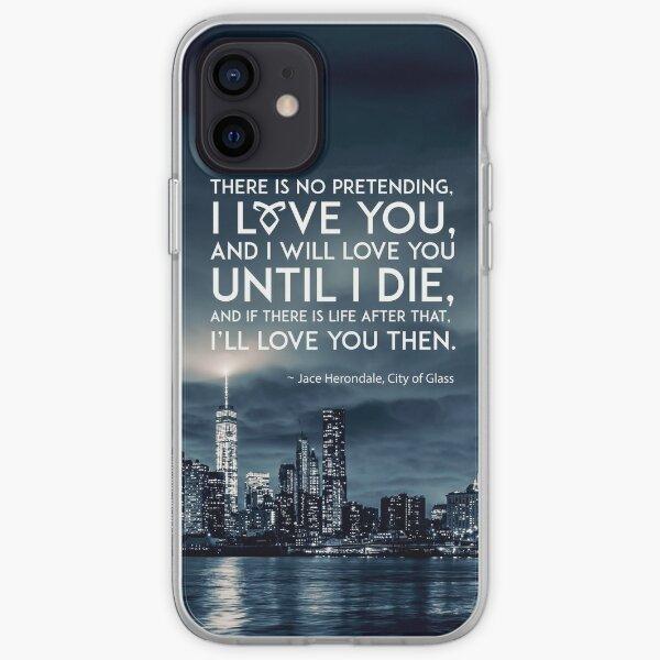 I Love You - Jace Herondale - Mortal Instruments iPhone Soft Case