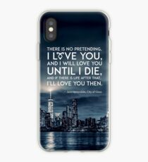 I Love You - Jace Herondale - Mortal Instruments iPhone Case