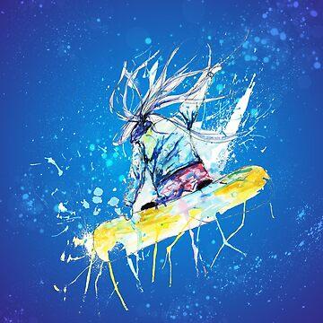 Snow Board by mongja9