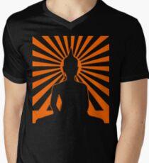 Camiseta para hombre de cuello en v BUDISMO