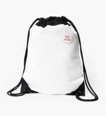 Vote for Pedro - Badge Drawstring Bag