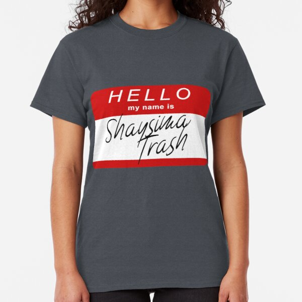 Mashed Clothing Hello Personalized Name Toddler//Kids Sporty T-Shirt My Name is Harper