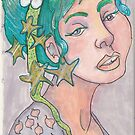 Stars in  her hair by Stacie Arellano
