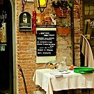 Dining in Maratea by Barbara  Brown