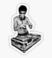 Bruce lee dj Sticker