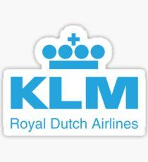 KLM (Royal Dutch Airline) - Journeys of Inspiration Sticker